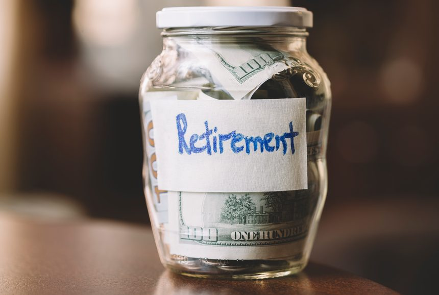 savings and investments - money for retirement.